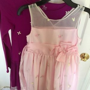 Childrens Place Dress And Jona Michelle Lot Of 2